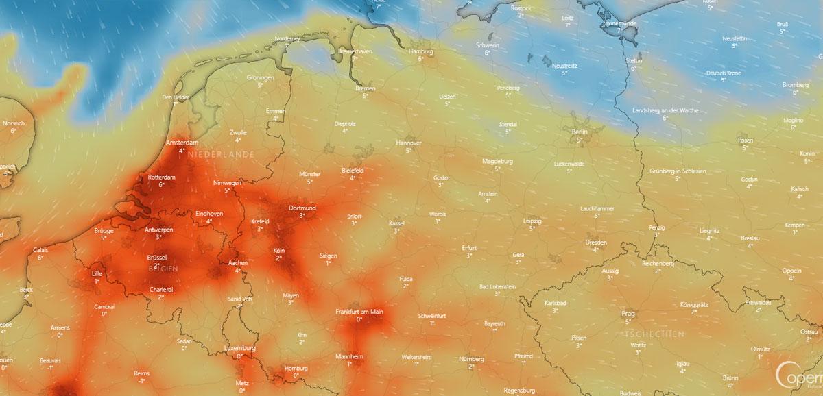 Wetter in Fürth: Gewitter, Vorhersage und Sturm