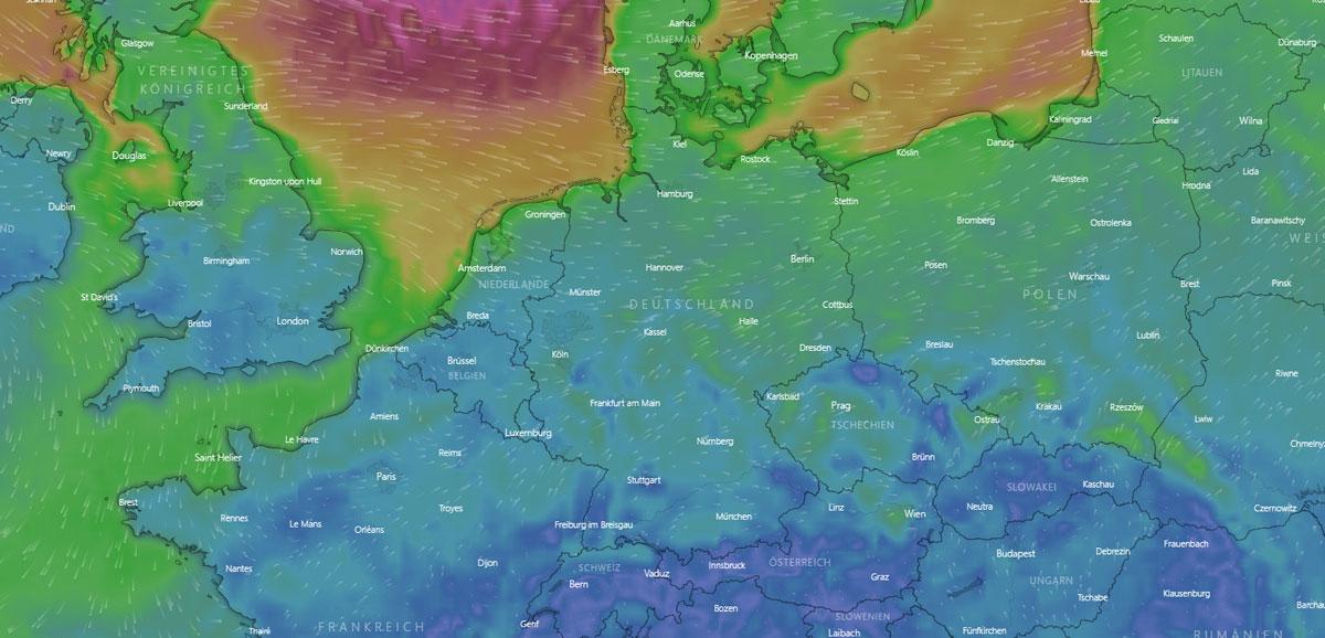 Wetter in Heidelberg: Nebel, Sonne, Gewitter und Temperatur